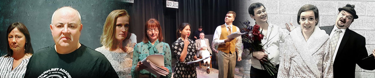 Montage of plays performed in Nantwich Theatre