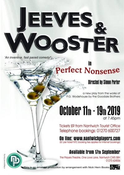 Tickets for Jeeves and Wooster