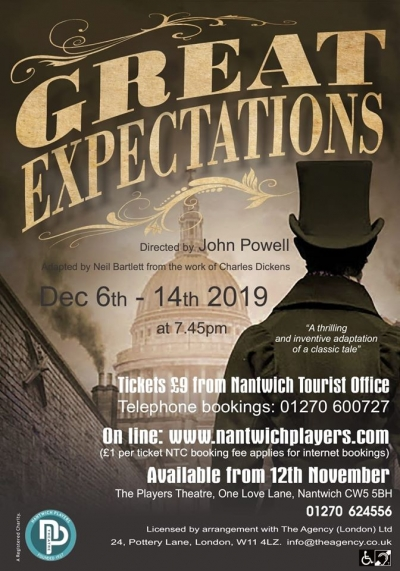 Last Few Tickets for Great Expectations